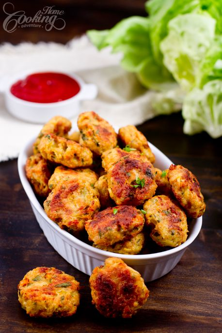 Leftover turkey meatballs - crispy on the outside and soft inside - a great way to use leftover meat
