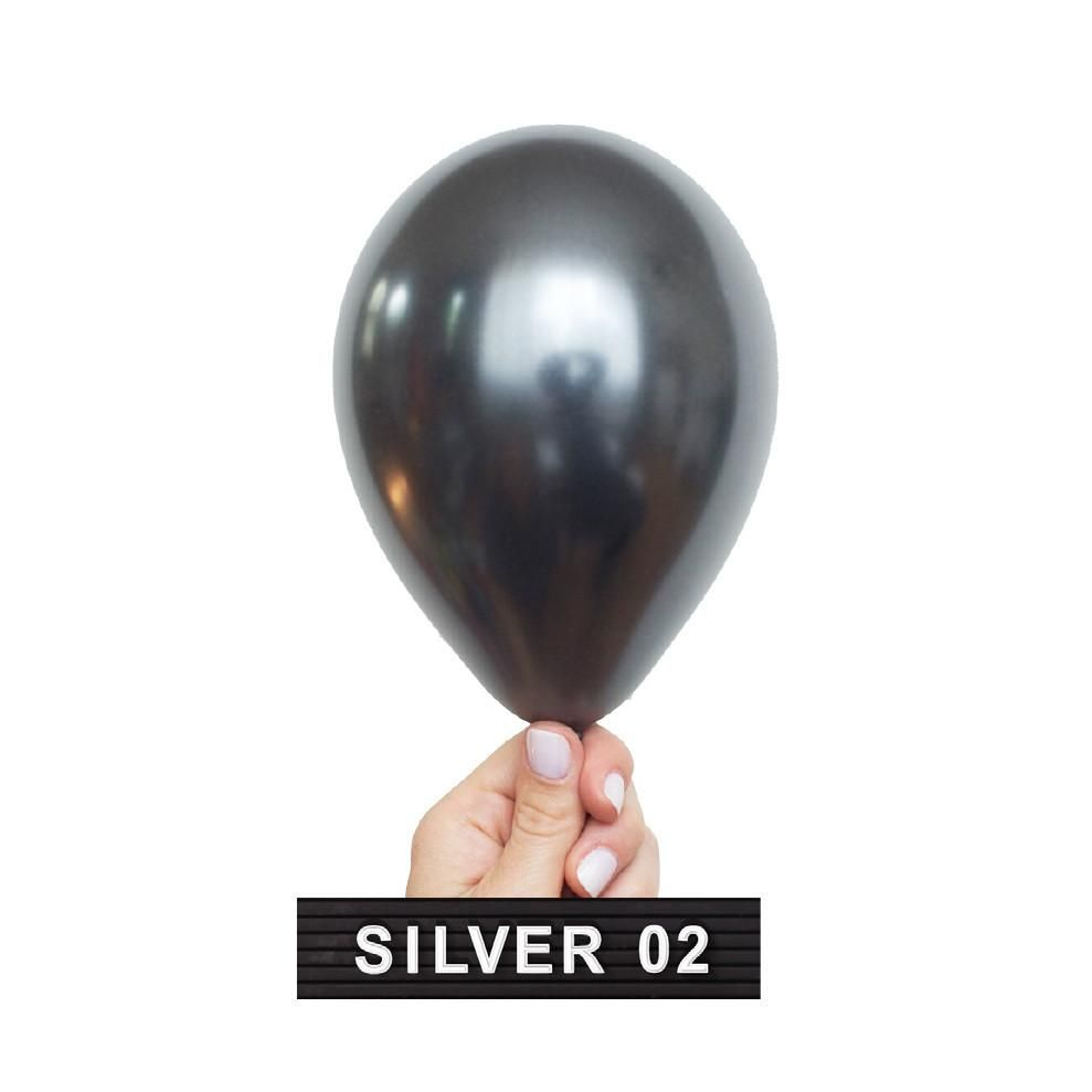 Silver Mini Balloons Perfect For Big Birthday Celebrations New Years Eve Christmas Hanukkah And Champagne Bars Designed By Luft In Chicago