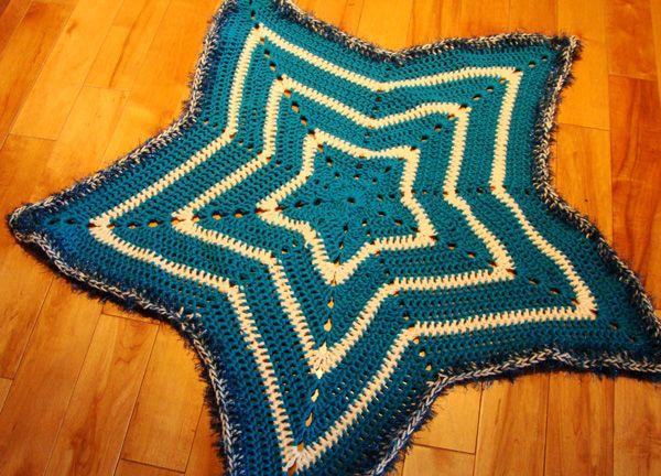 Crochet Star Afghan - The Crochet Crowd   Pinterest   Babydecken ...