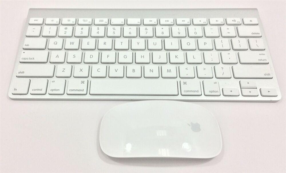 05268e2027e eBay #Sponsored Apple Wireless Keyboard and Magic Mouse A1314 A1296  Refurbished