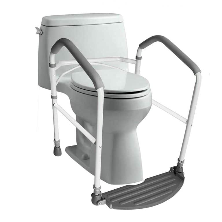 5. RMS Toilet Safety Frame Adjustable Height (White