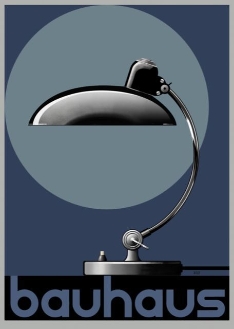 Photo of Bauhaus Lamp Poster