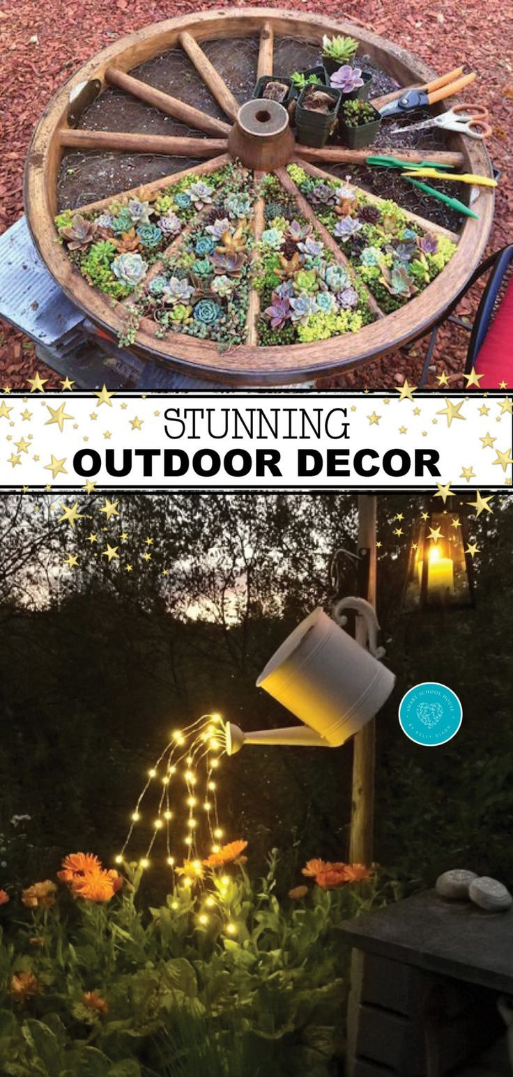 Sunning Outdoor Decor Ideas