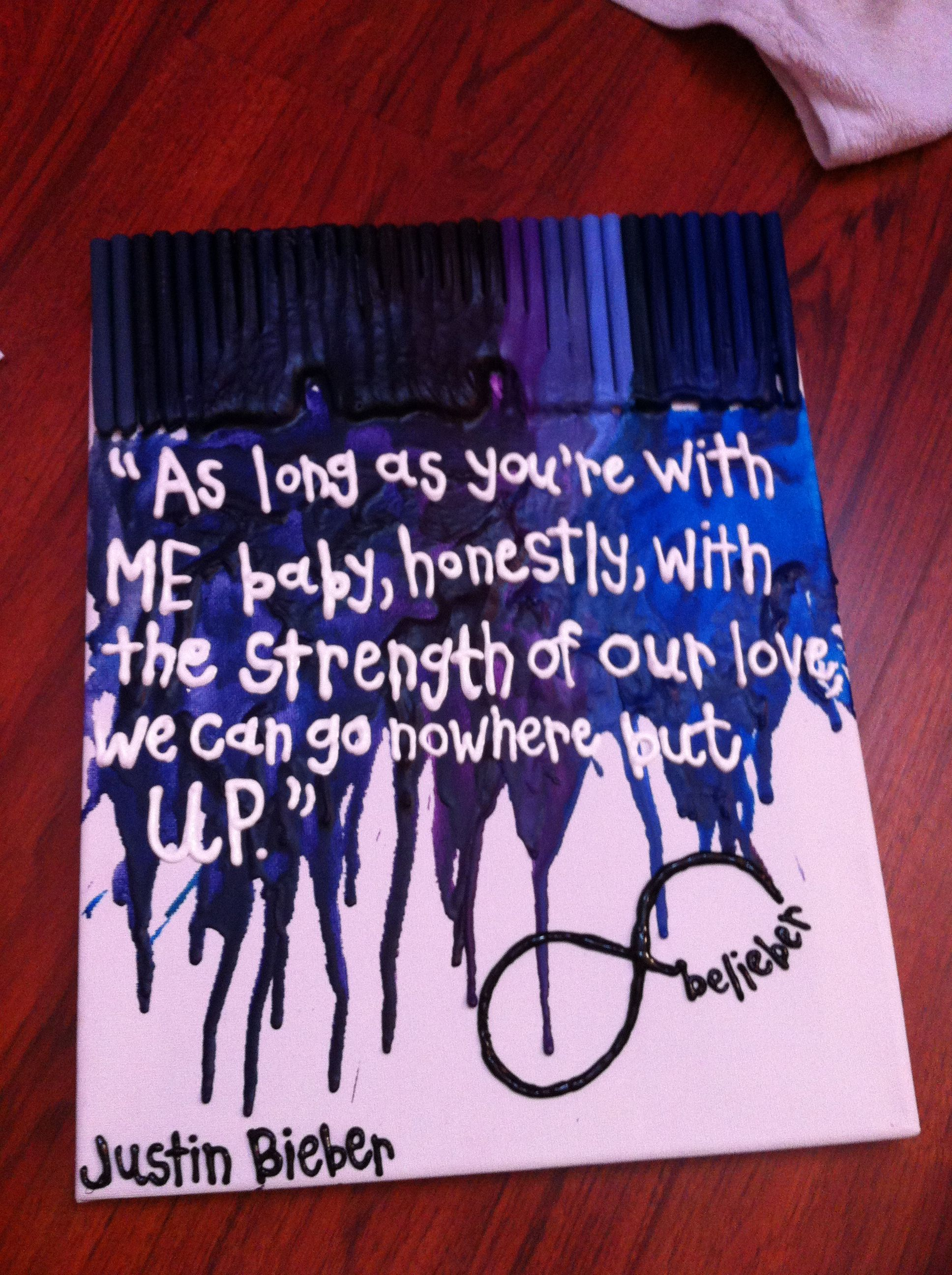 Justin bieber tumblr lyrics live quotes - Justin Bieber Lyric Canvas U Smile Maybe Or Even Do A Be Alright One