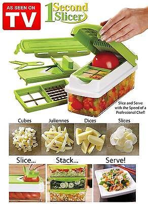 1 Second Slicer All In One Food Preparation Station Nothings Faster