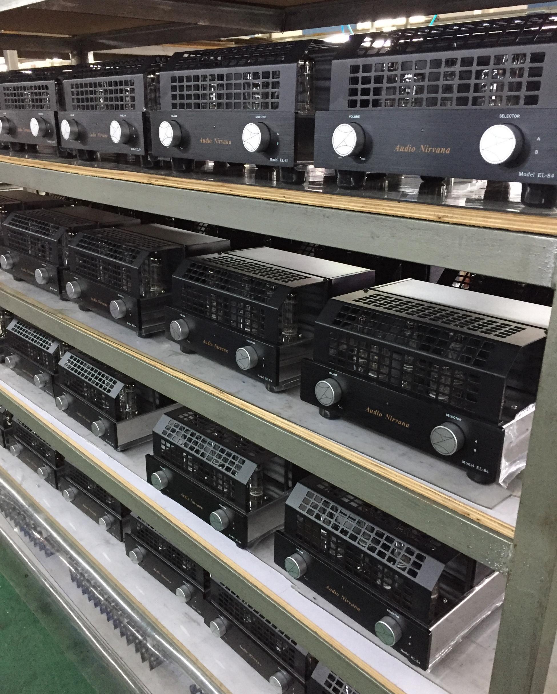 300B SET, EL34 Single Ended, and EL84 Ultralinear  Audio