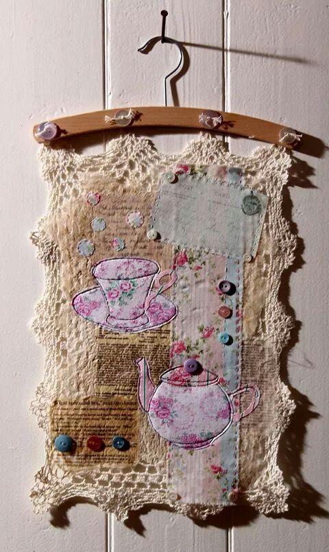 Nice textile piece by Ali Ferguson