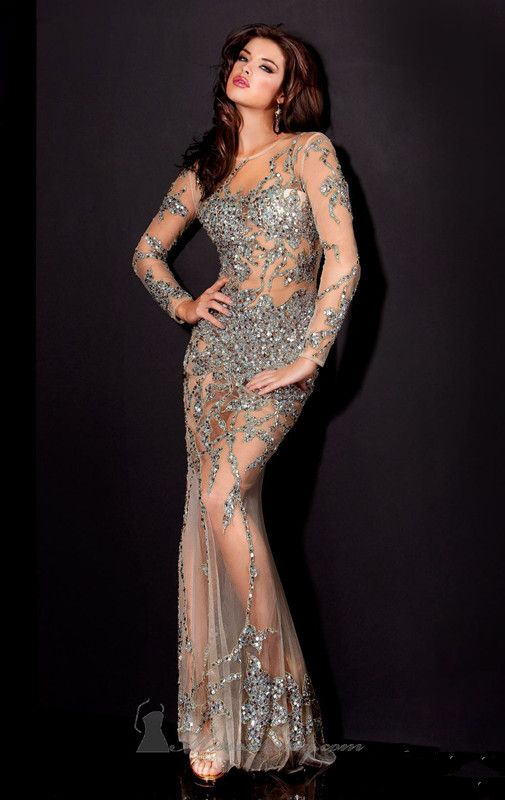 See through gown. | Fab Gowns | Pinterest | Gowns and See through