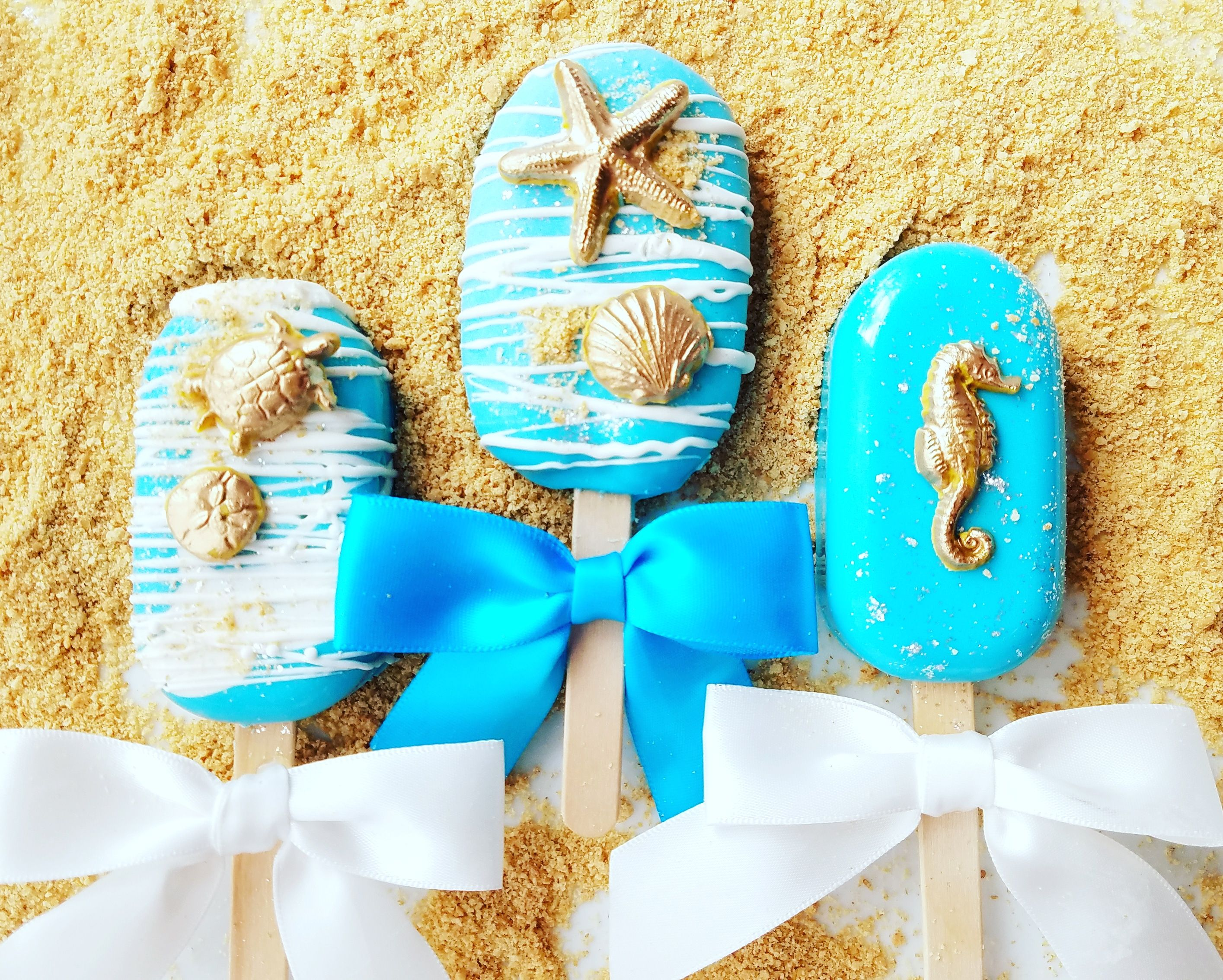 Cakery creations beach cakesicles ice cream cake pops