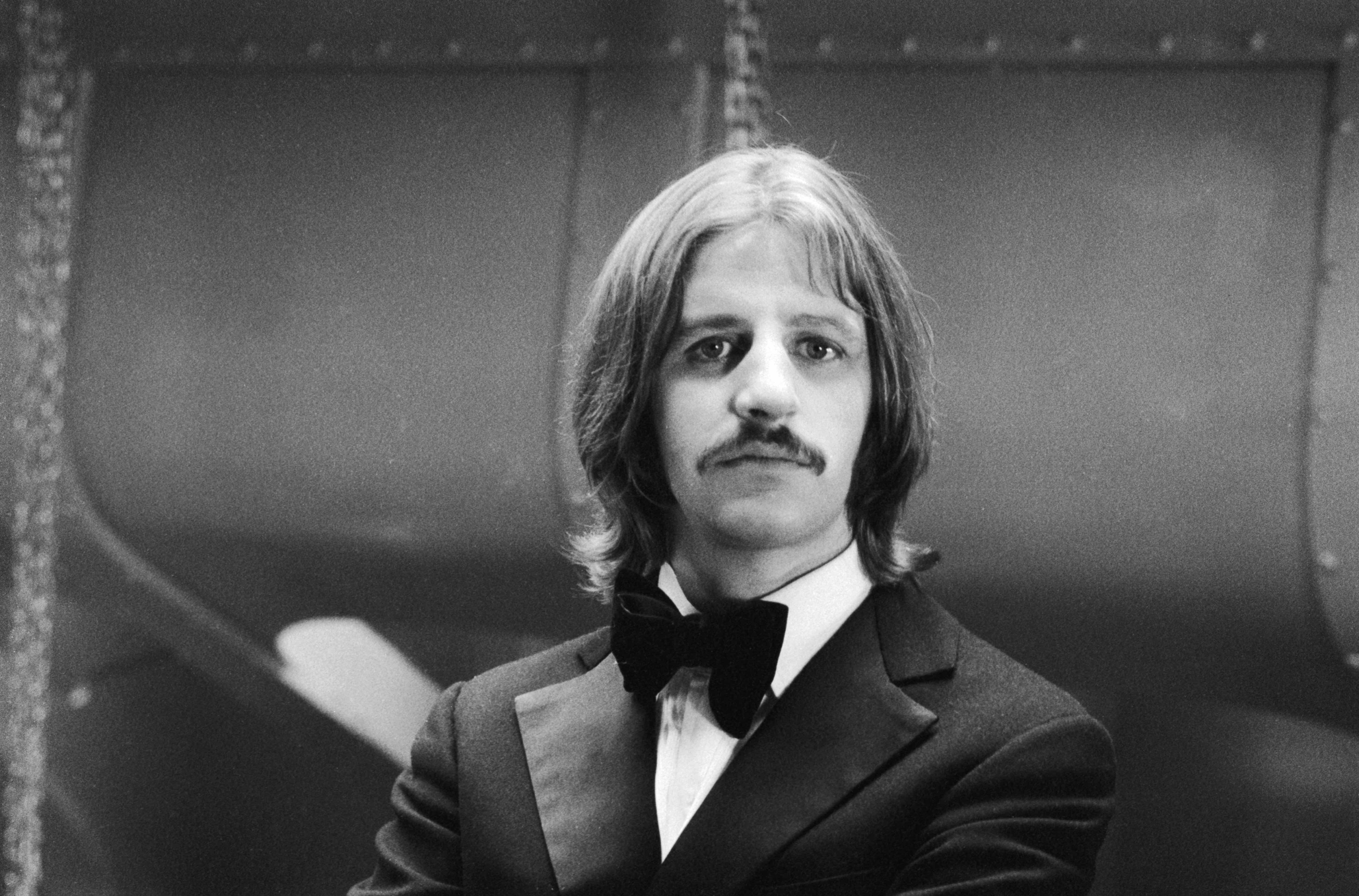 Ringo Starr On The Set Of Magic Christian Directed By Joseph McGrath 1969 Plays Character Youngman Grand In Film