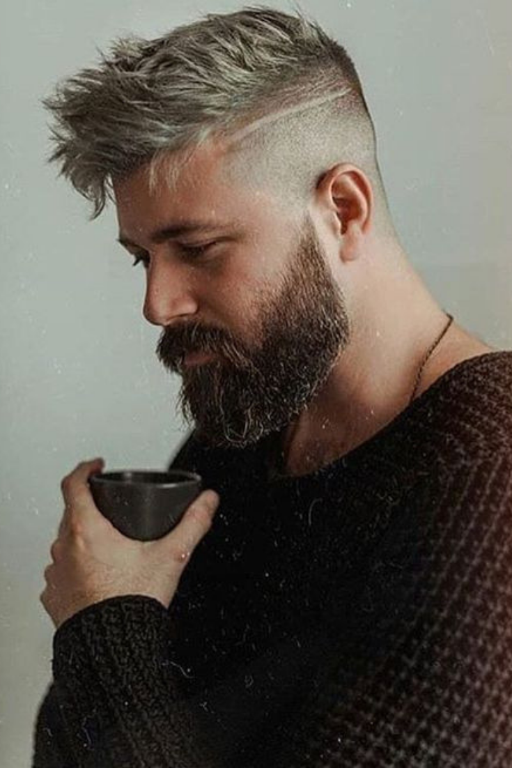 29 Best Short Hairstyles With Beards For Men 2020 Guide Beard Fade Short Hair With Beard Beard Styles Short