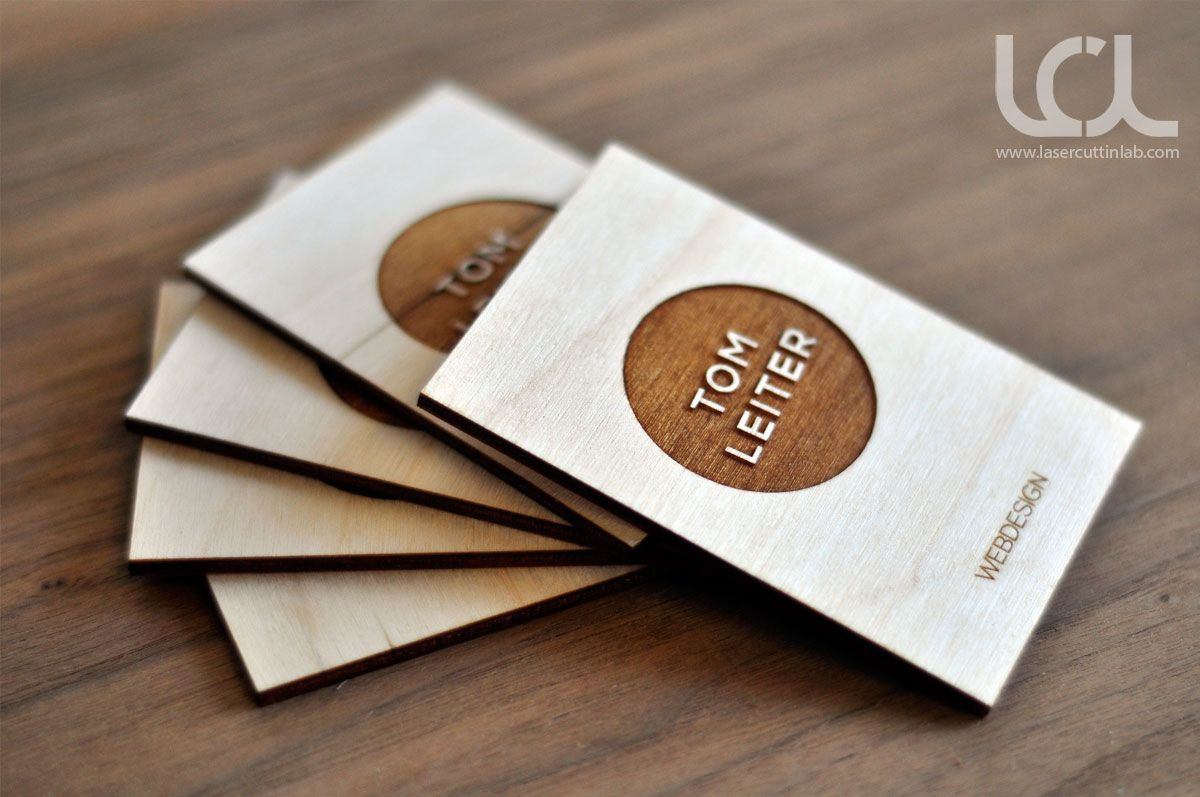 Pin On Laser Engraved Business Cards