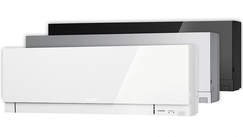 Mitsubishi Electric Ductless Indoor Units Color Choices Split System Air Conditioner Air Conditioning System Split System