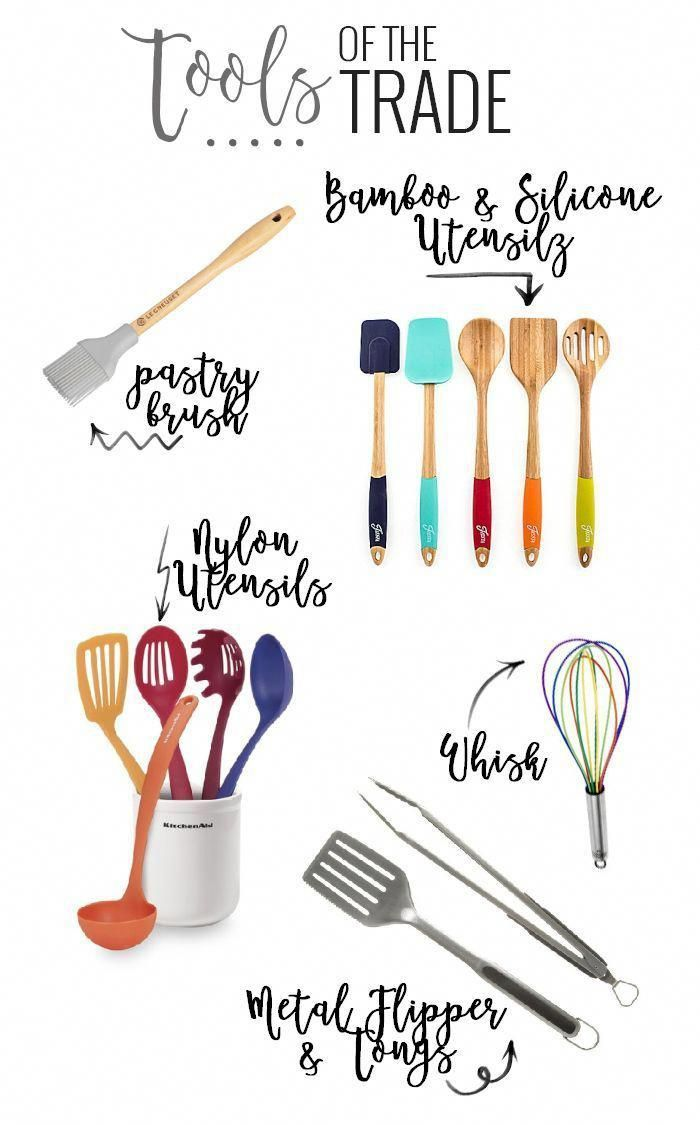 45 Items Everyone Needs In Their Kitchen is part of Kitchen must haves, Must have kitchen gadgets, Kitchen utensils, Kitchen technology, Kitchen gadgets, Kitchen items - A complete list of all of the kitchen essentials you need! From small appliances, to gadgets, to linens  we have you covered