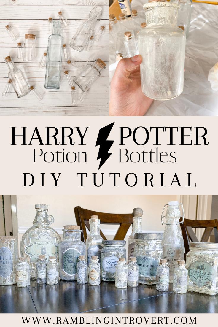 Photo of DIY Harry Potter Potion Bottles Tutorial