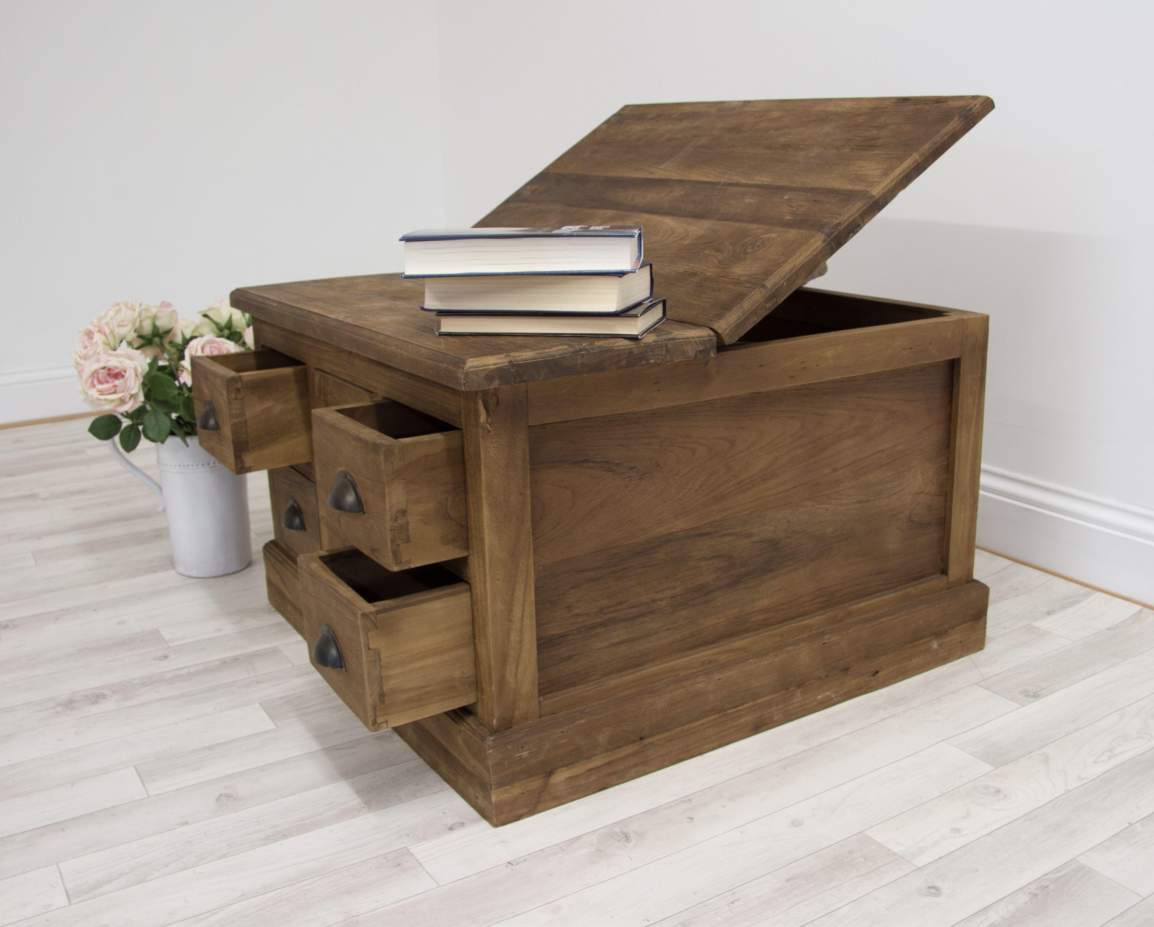 Teak Salon coffee table / storage unit