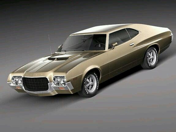 1972 Ford Gran Torino Sport Classic Cars Muscle Cars Classic
