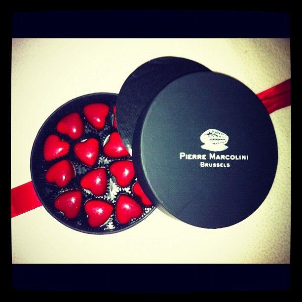 Les Cœurs de Marcolini  - Belgium's best chocolates -