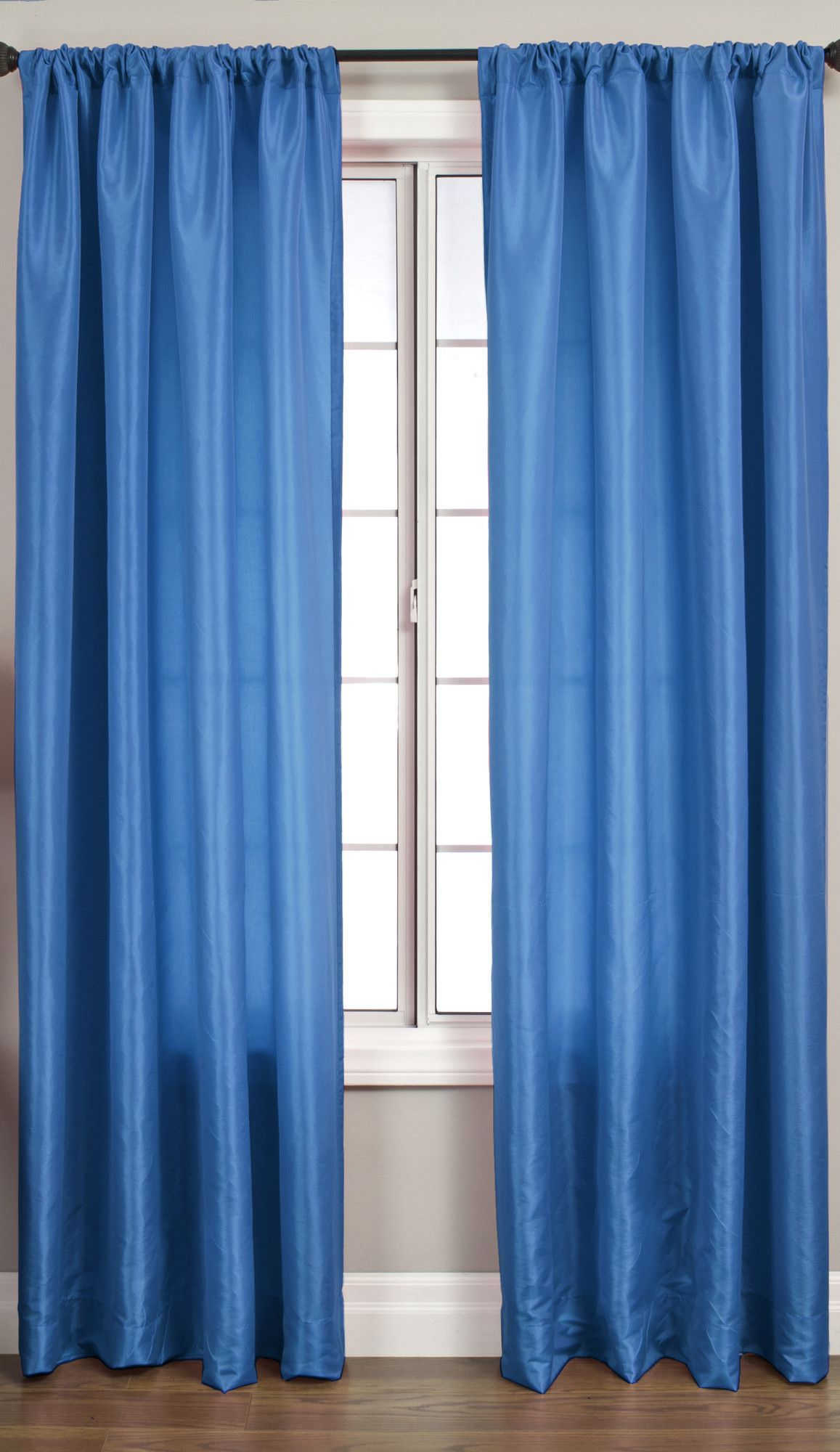 Bella Kids Rod Pocket Single Curtain Panel