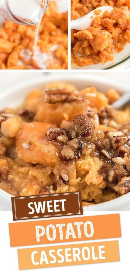 SWEET POTATO CASSEROLE RECIPE | Deliciously Sprinkled