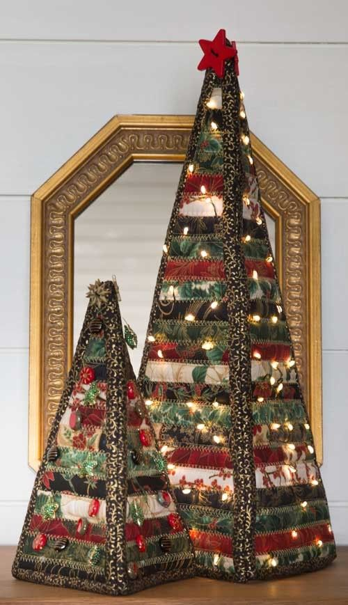 Christmas Trees Quilt Pattern | Christmas | Pinterest | Tree quilt ...