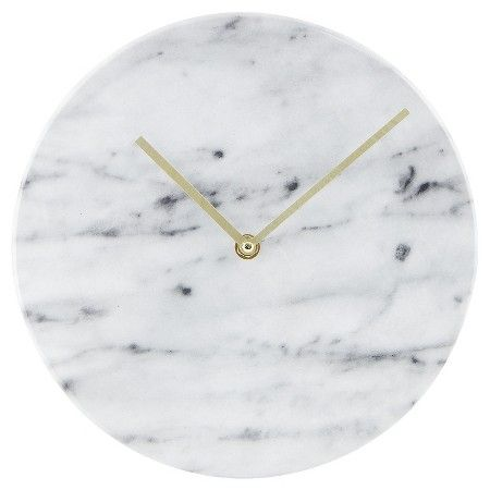 My Home Living With Landyn Wall Clock Marble Clock College Wall Decor