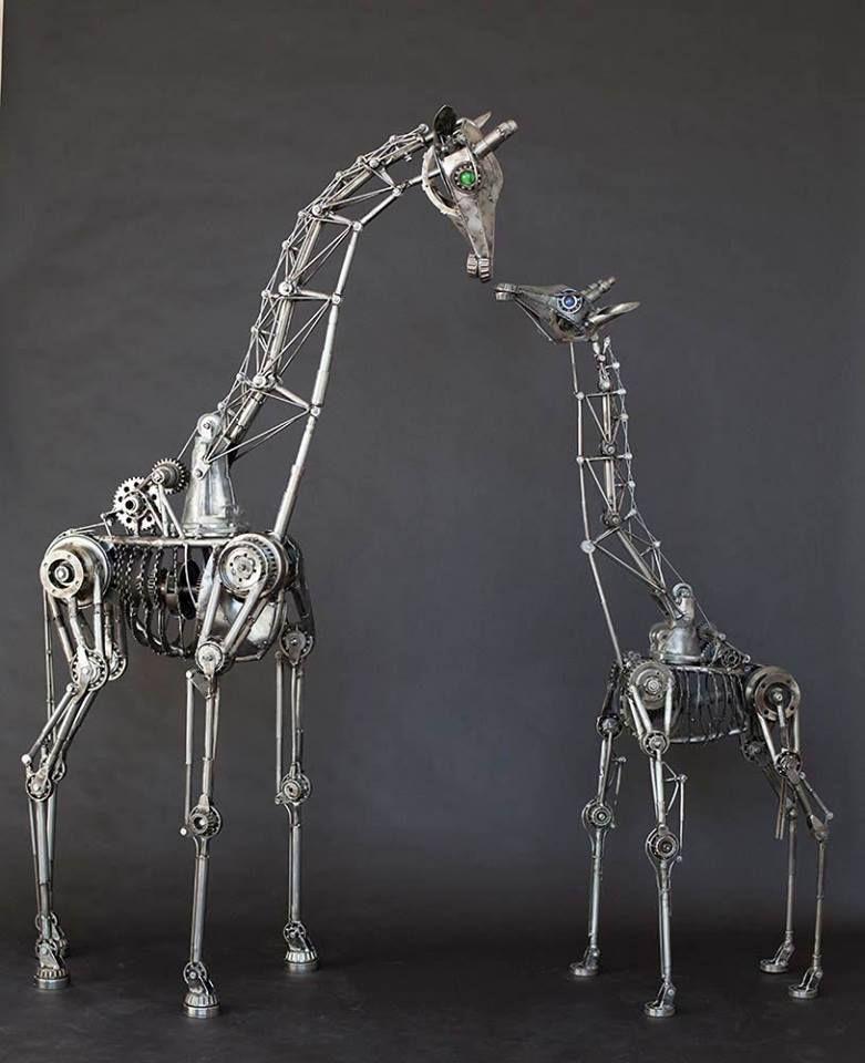 Andrew Chase Toute La Magie De L Art All The Magic Of Art Rusty Metal Garden Art Metal Art Sculpture Metal Art Projects