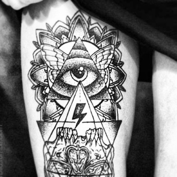 Inspiration De Tatouage Eye Triangle Trouvez Le Meilleur Tatoueur