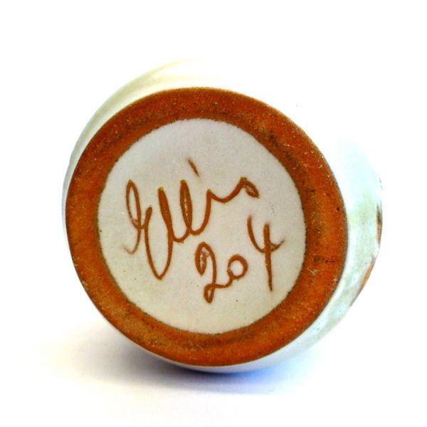 Ellis Pottery no.204  - Pottery mark.  Australian Pottery.