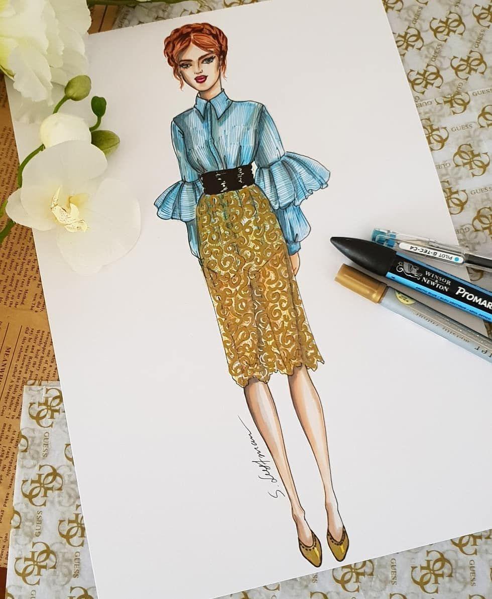 이미지 사람 2명 Fashion Art Illustration Fashion Design Sketches Fashion Design Drawings