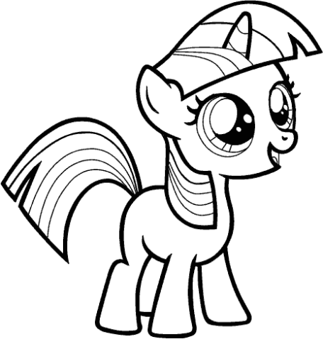 45+ My little pony applejack coloring page HD