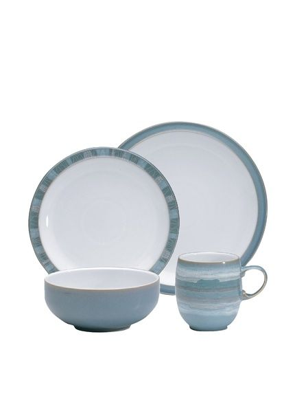 Denby Azure Coast 16-Piece Dinnerware Set Blue //  sc 1 st  Pinterest & Denby Azure Coast 16-Piece Dinnerware Set Blue http://www.myhabit ...