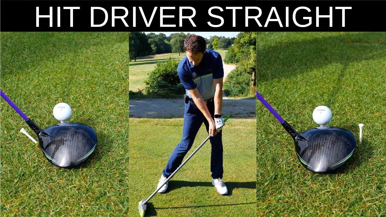 How To Hit Driver Straight Every Time Crazy Detail Youtube Golf Golf Drivers Golf Lessons