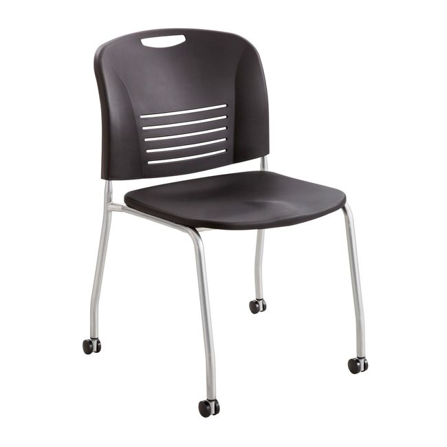 Vy 4 Leg Mobile Stack Chair By Safco Products 4291 68274
