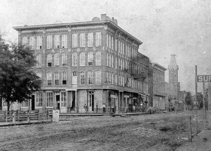 One Of The First Hotels In Warsaw