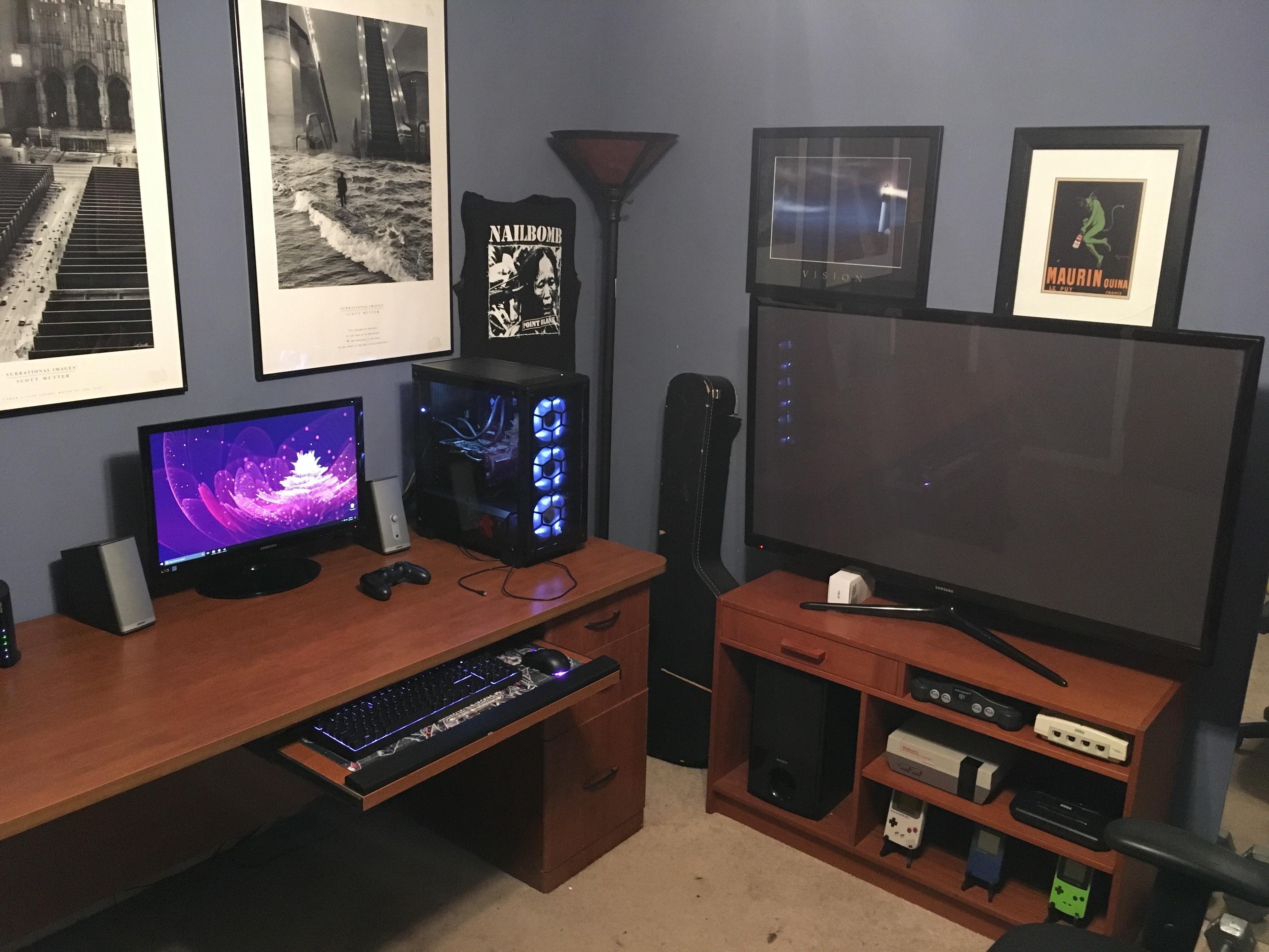 My Bullshitstation Game Room Design Gaming Room Setup Room Setup