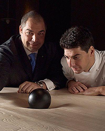 MASSIMILIANO ALAJMO Top 100+ European Restaurants 2015