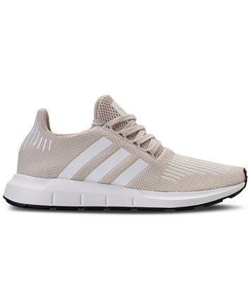0bf731ab05be adidas Women s Swift Run Casual Sneakers from Finish Line - Size 8 - Clear  Brown White