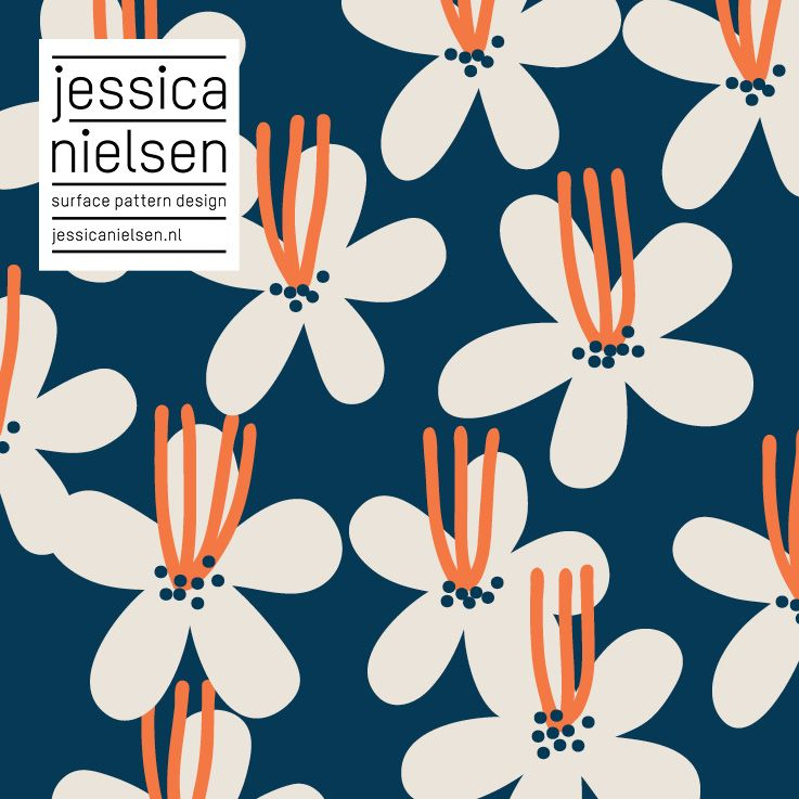patterns - Jessica Nielsen - surface pattern design #surfacepatterndesign