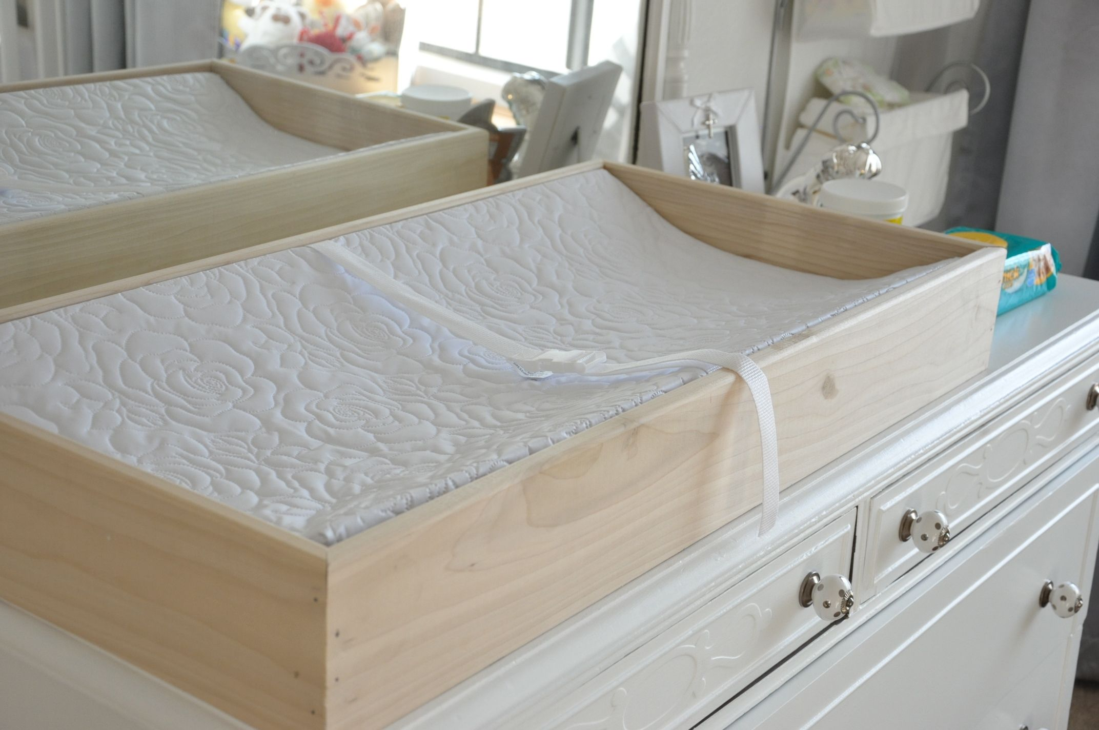 The Silver Dreaming Changing Pad Tray Changing Table Diy Changing Table