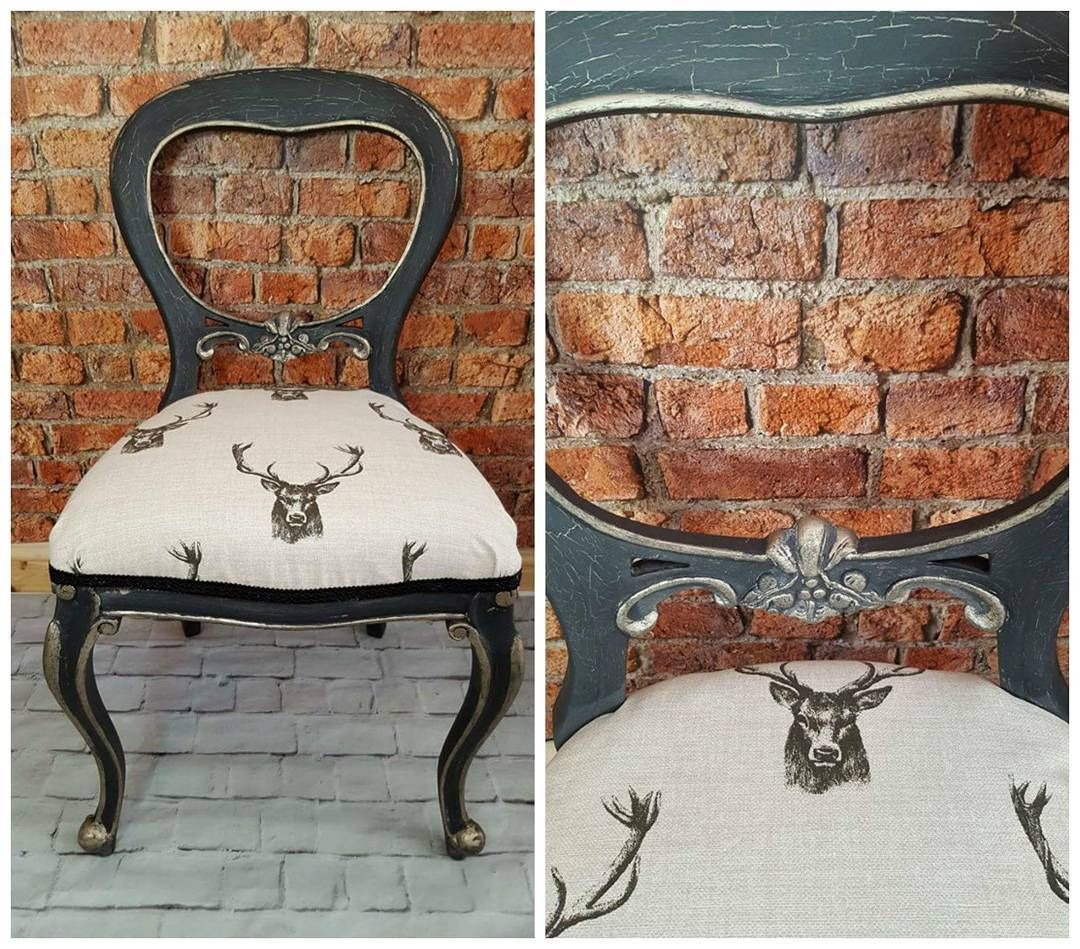 Don't You Just Love This Handsome Chair Painted And