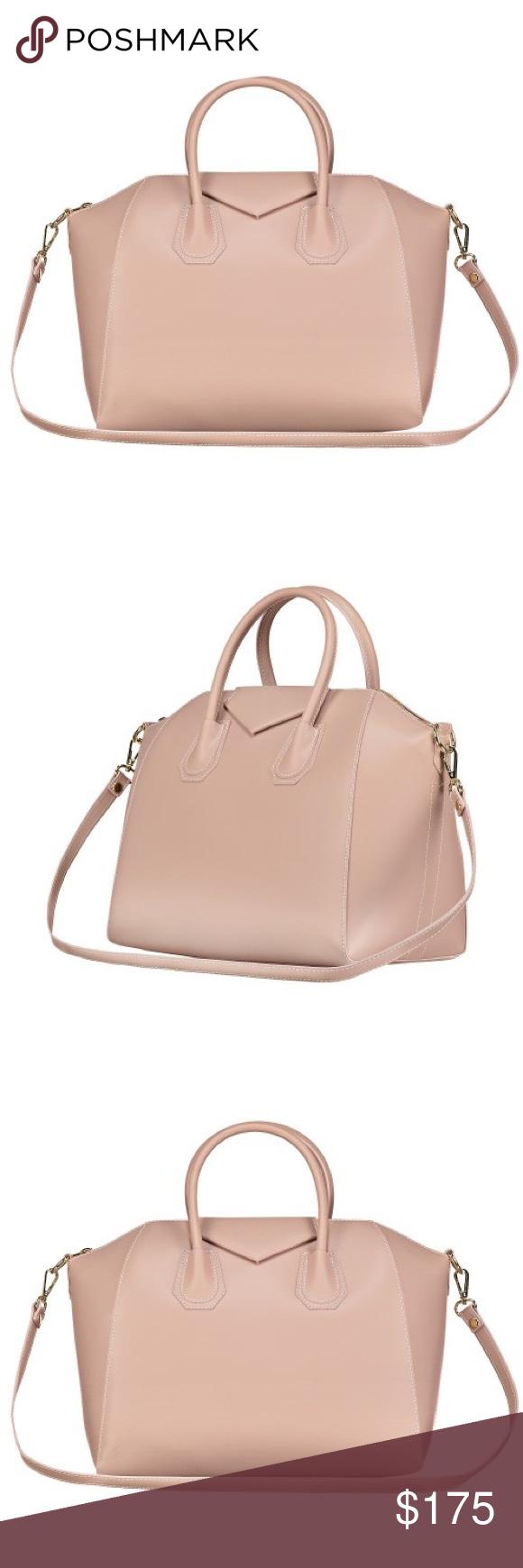 Large Pink Nude Fashion Drug Gigi Purse Color  Nude Pink MATERIAL  Italian  leather 7a2df362235fd