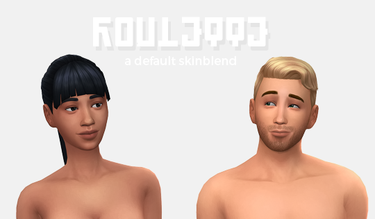 Roulette Default Skin Blendhi Guys This Is The 300 Followers Gift And I D Thank You To All Of My Followers For Followi The Sims 4 Skin Sims 4 Cc Skin Skin