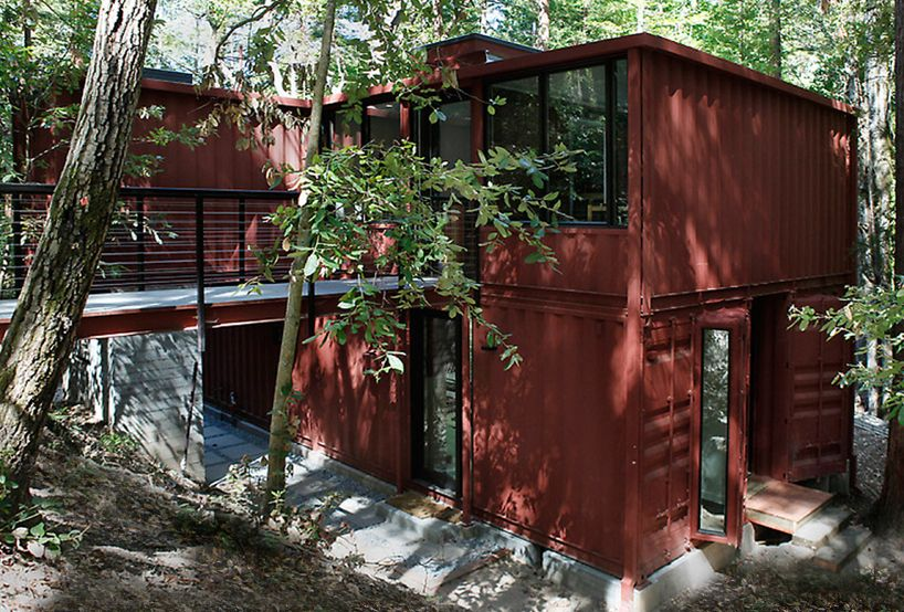 house - Tree House Plans Metal Crate