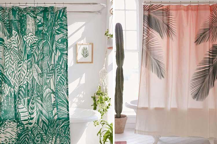 Cortinas de ducha para la decoración del baño   Sala de estar ...