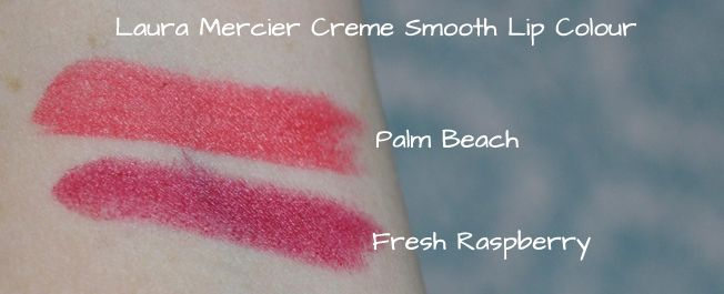Laura+Mercier+Fresh+Raspberry and Palm+Beach