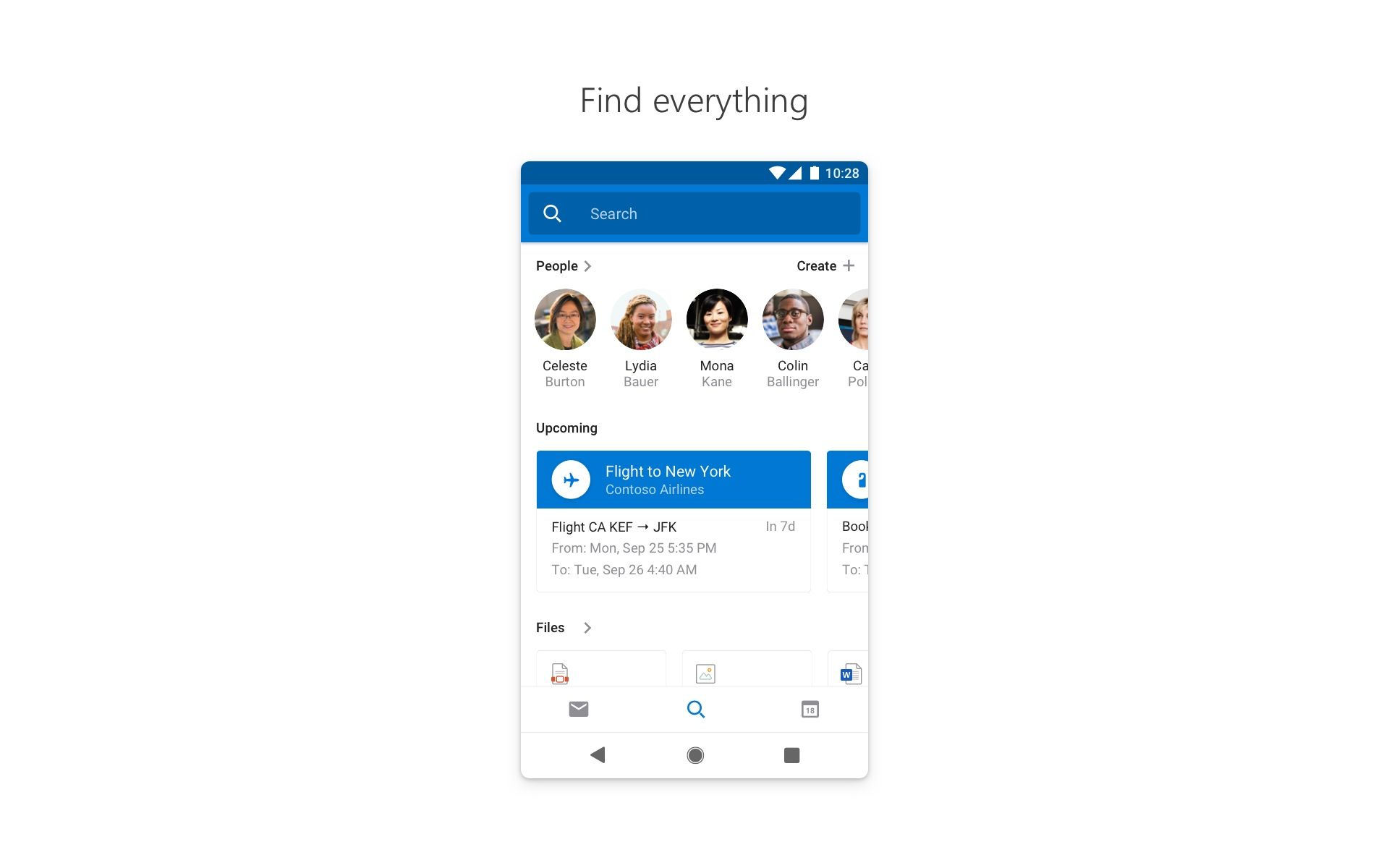 Microsoft Outlook Appstore for Android in