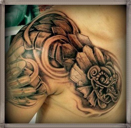 Tatuajes De Quetzalcoatl Para Hombres Tattos Tatuaje