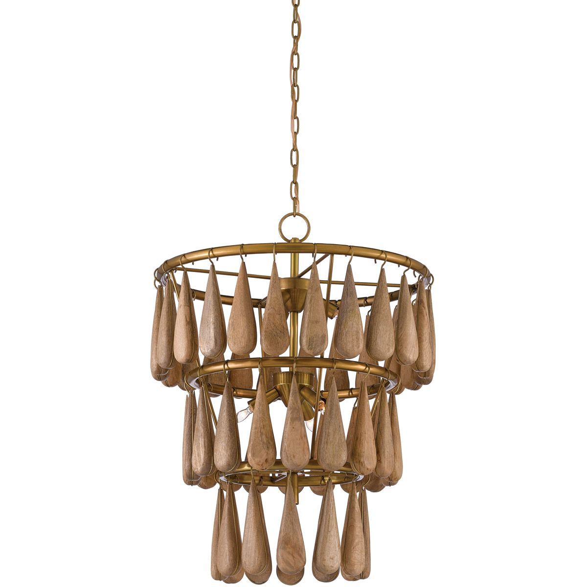 Currey Company 9000 0406 Savoiardi 7 Light 21 Inch Vintage Brass And Natural Chandelier Ceiling Light At Lightin Natural Chandeliers Chandelier Unusual Lamps
