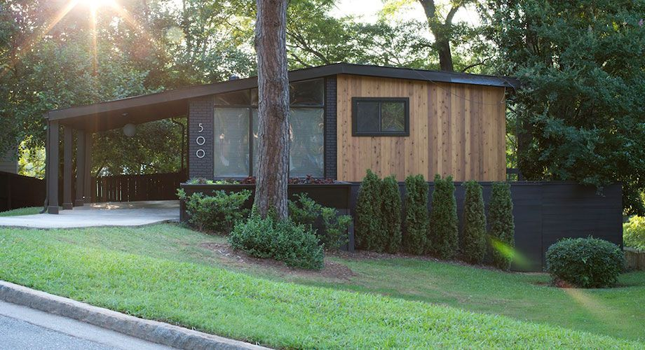 Pin By Kara Vorhes On Mcm House Paint Exterior Wood Siding